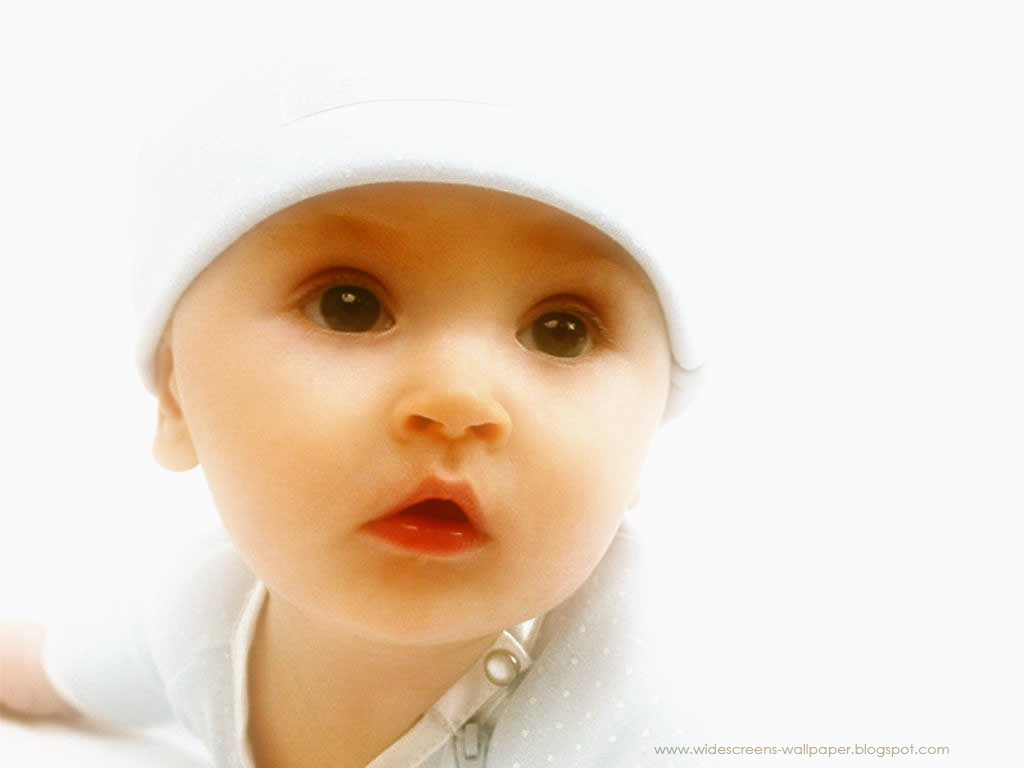 Cute Baby Backgrounds Very cute baby wallpaper 1024x768