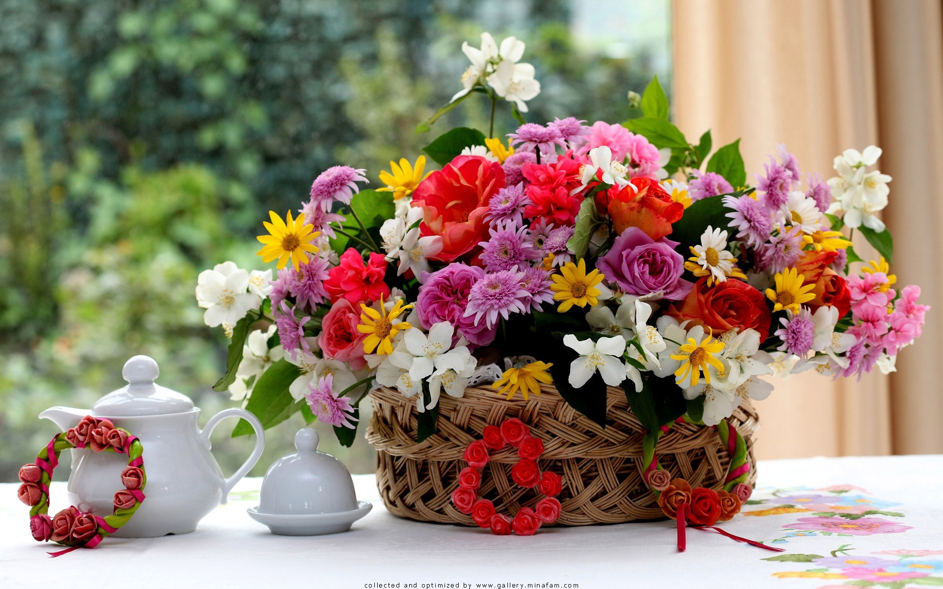 flower arrangements wallpapers and nature wallpapers of charge 1920x1200