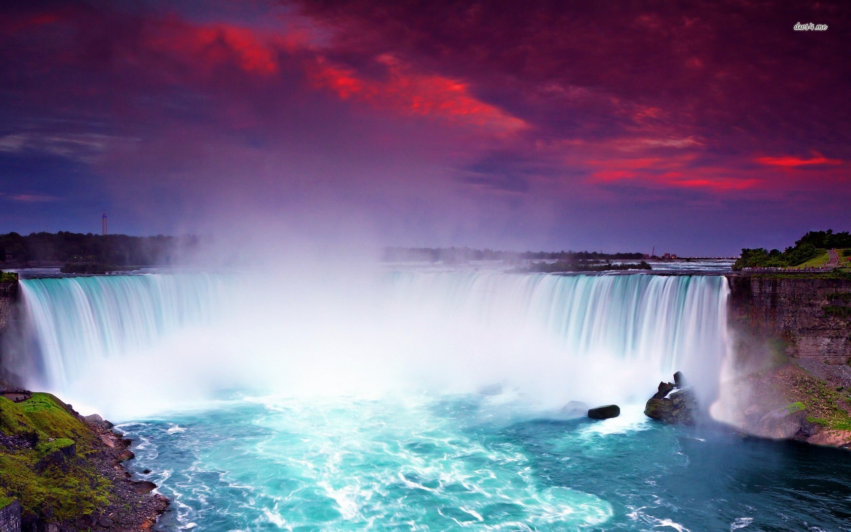 Niagara Falls wallpaper   Nature wallpapers   11118 1680x1050