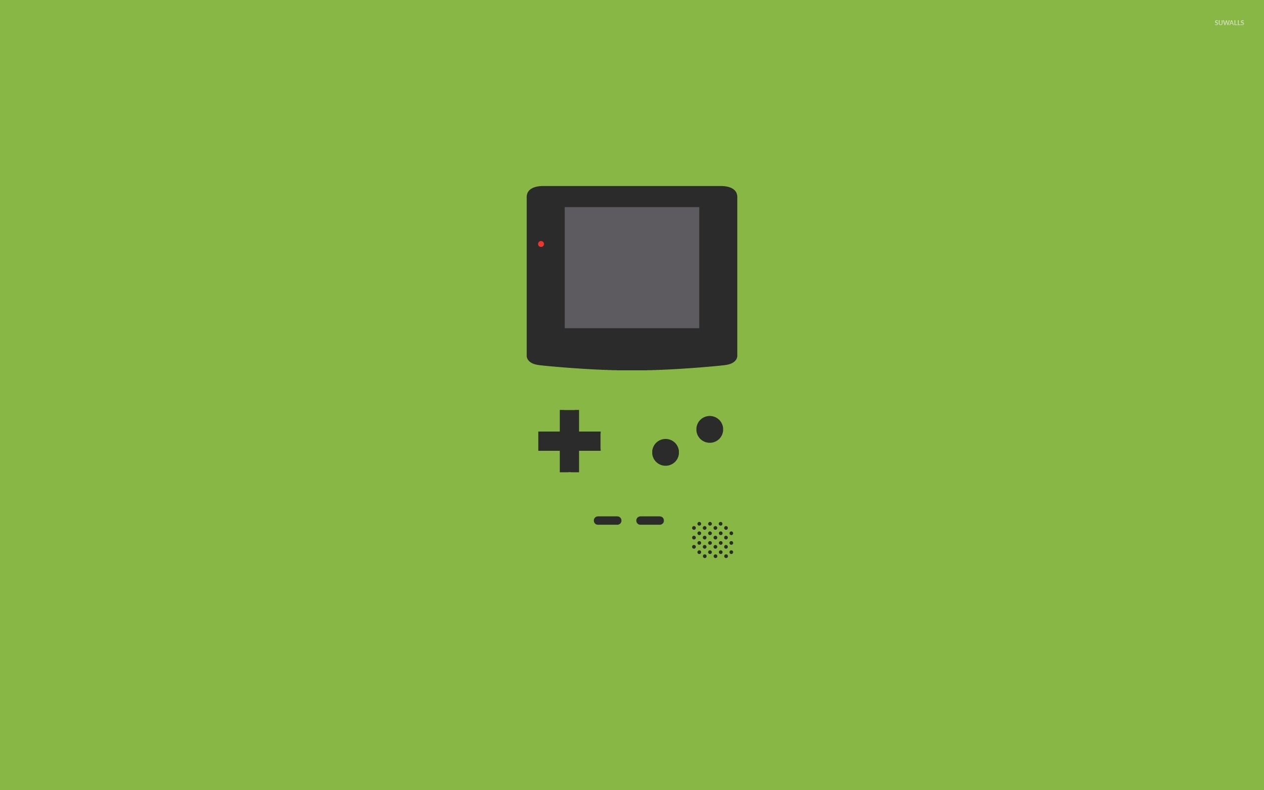 Game Boy wallpaper   Minimalistic wallpapers   43583 1366x768
