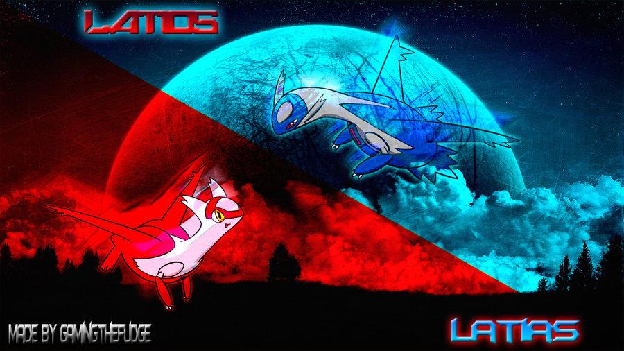 Latias And Latios Wallpaper