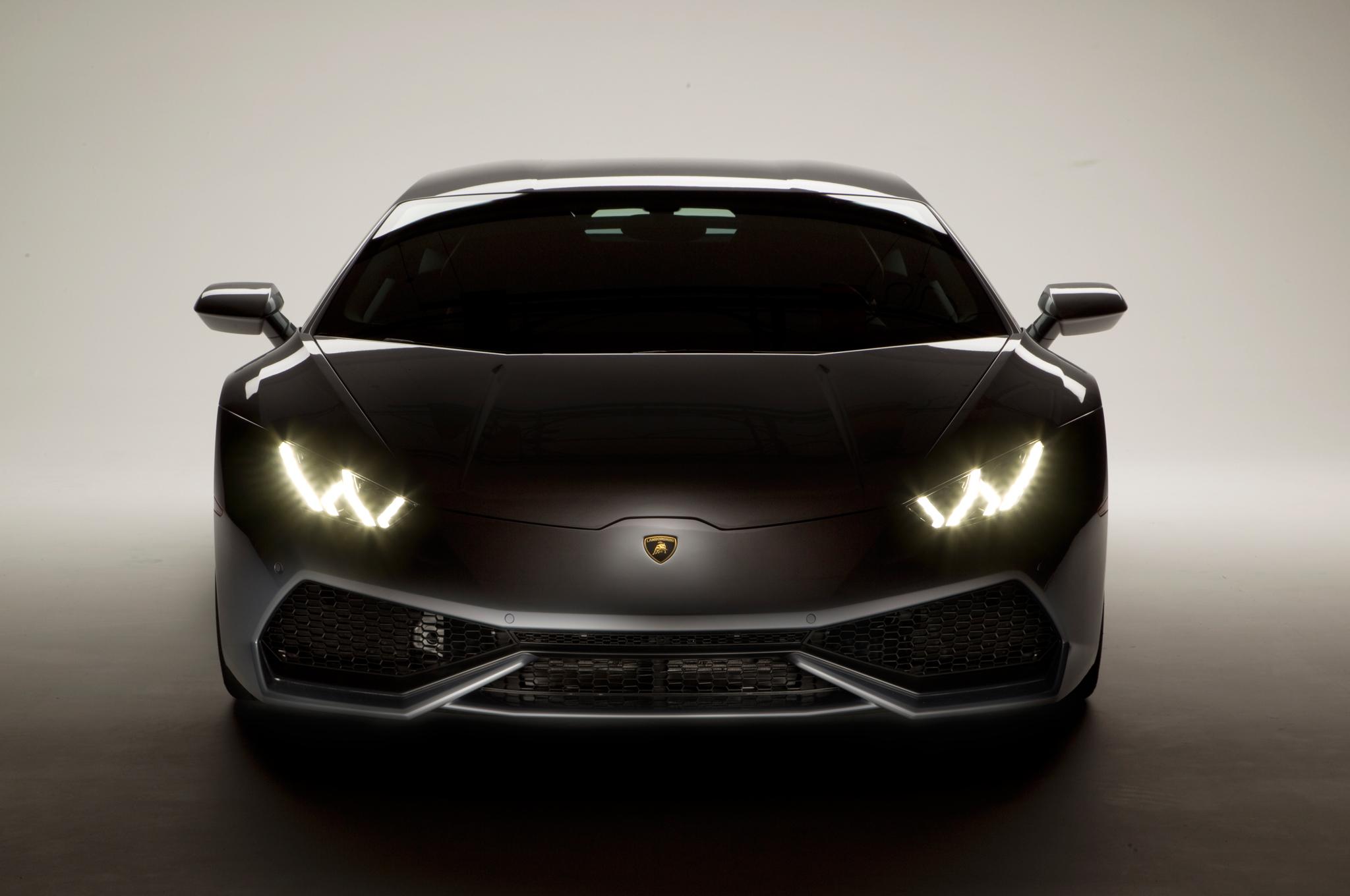 2015 lamborghini huracan front headlight - Lamborghini Huracan Hd Wallpaper