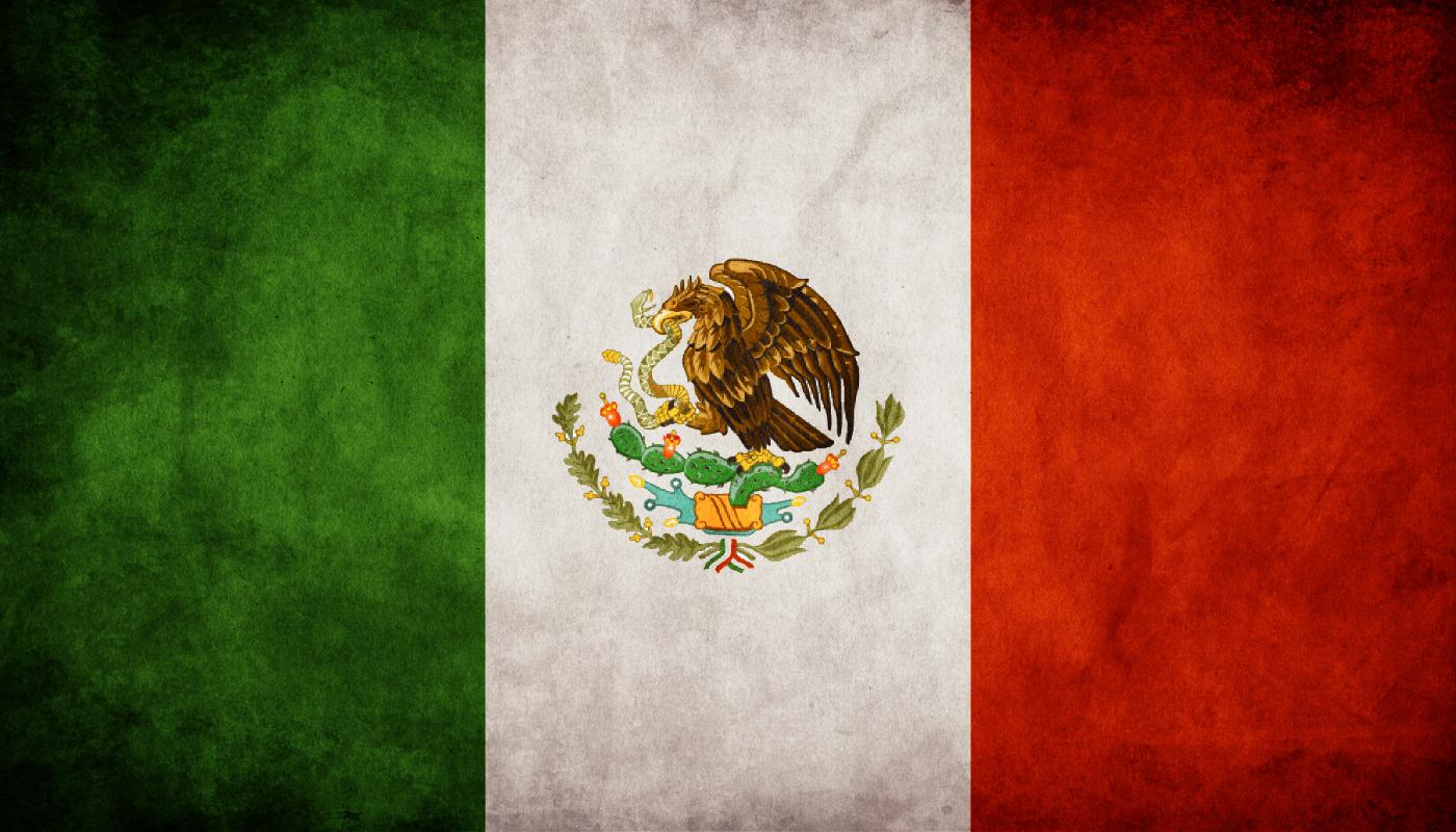 Bandera de Mxico De Hernn Corts a la actualidad 1400x800