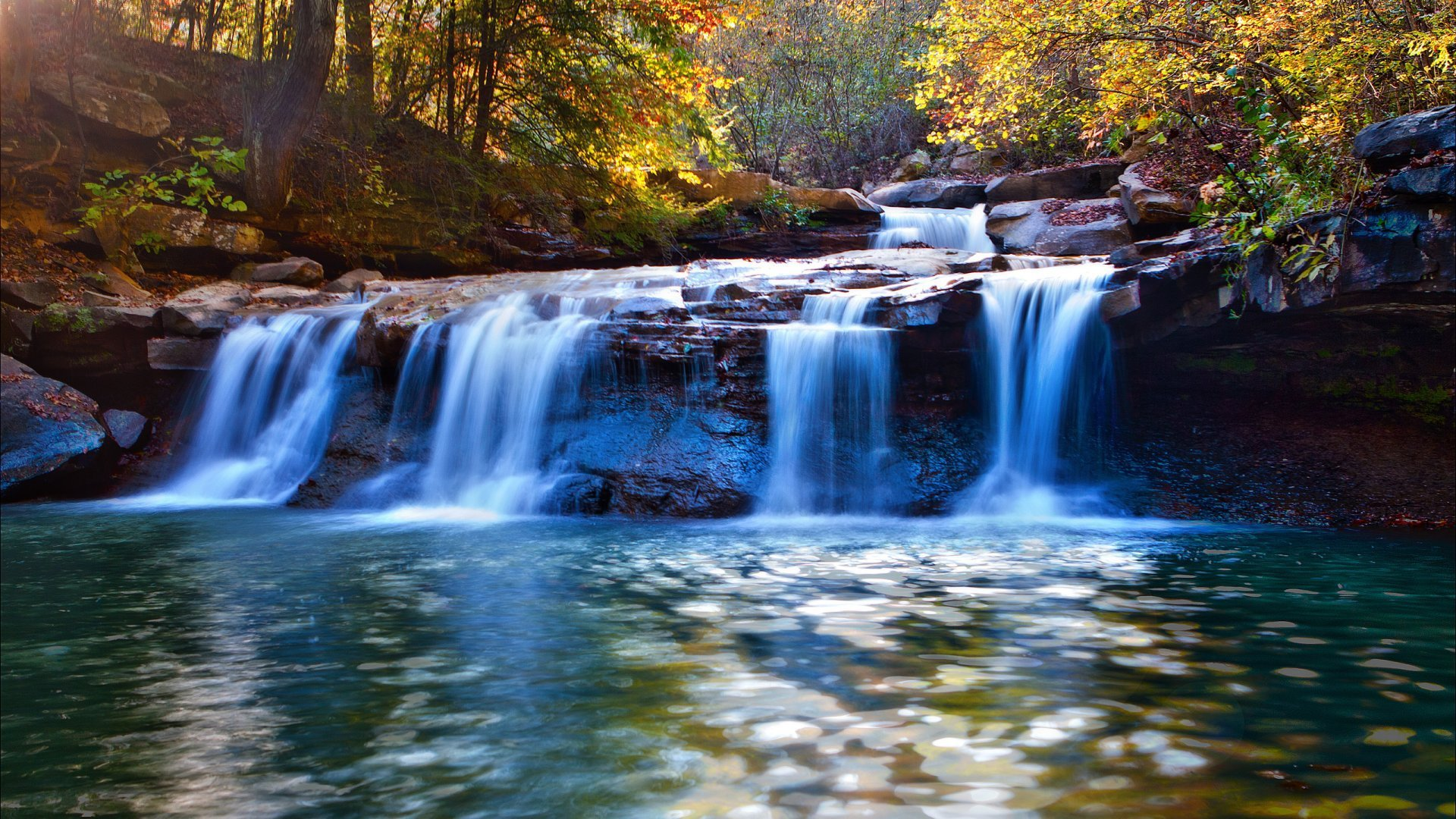 Waterfall Autumn   Most Beautiful Waterfall Wallpapers for Desktop 1920x1080