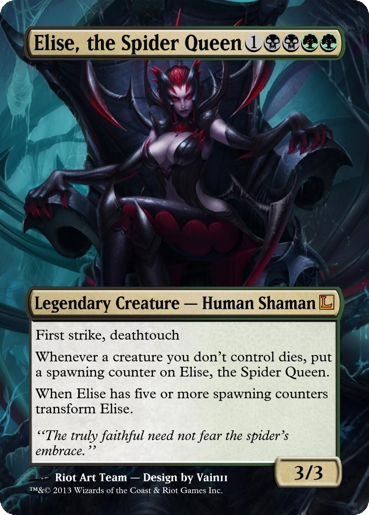Elise The Spider Queen Wallpaper Elise the spider queen by 750x1046