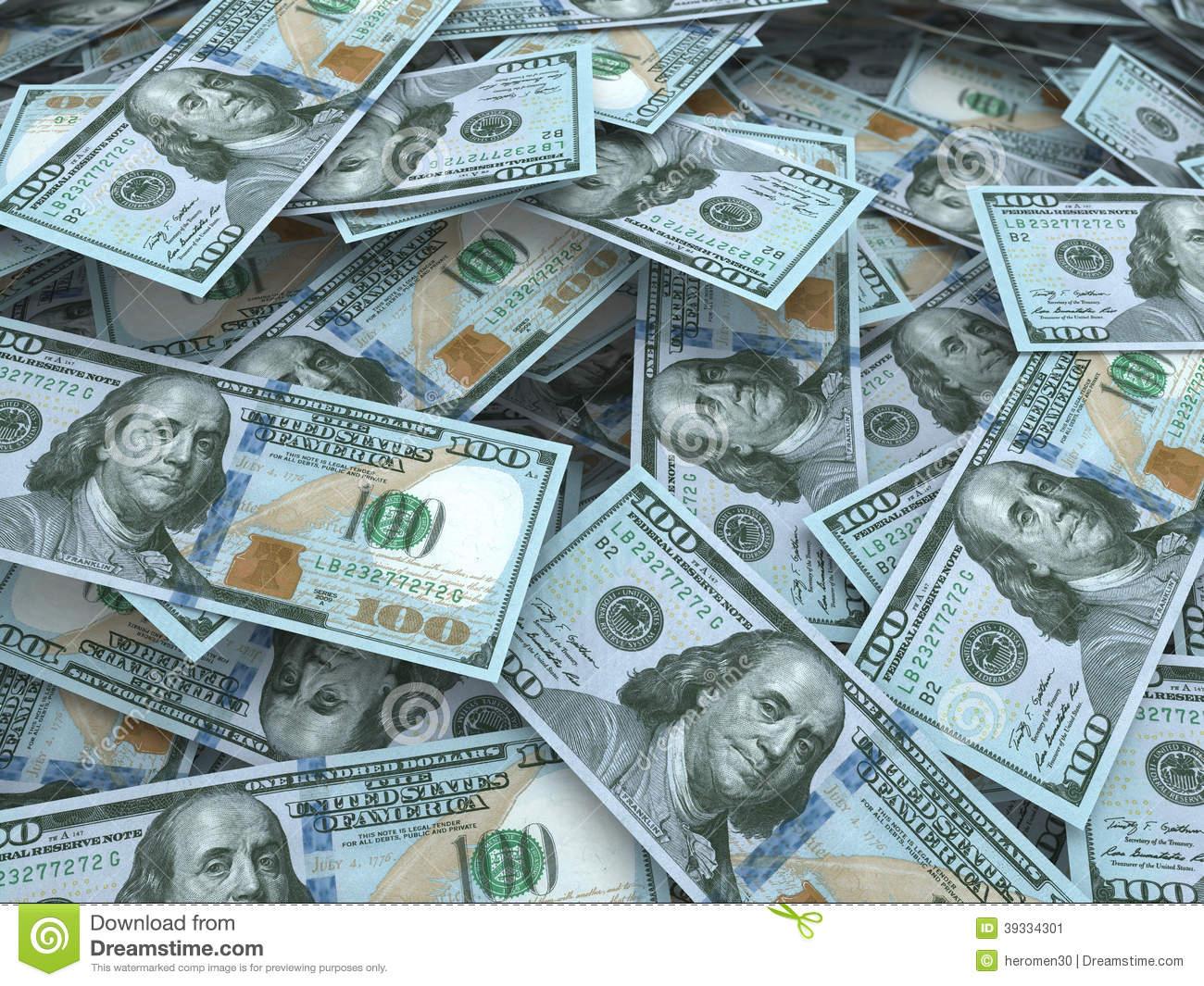 100 dollar bill wallpaper wallpapersafari - Dollar wallpaper ...