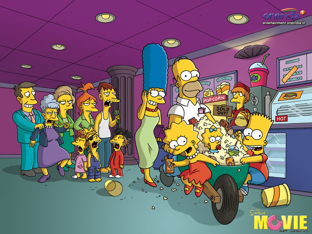 The Simpsons   The Simpsons Wallpaper 6345058 1024x768