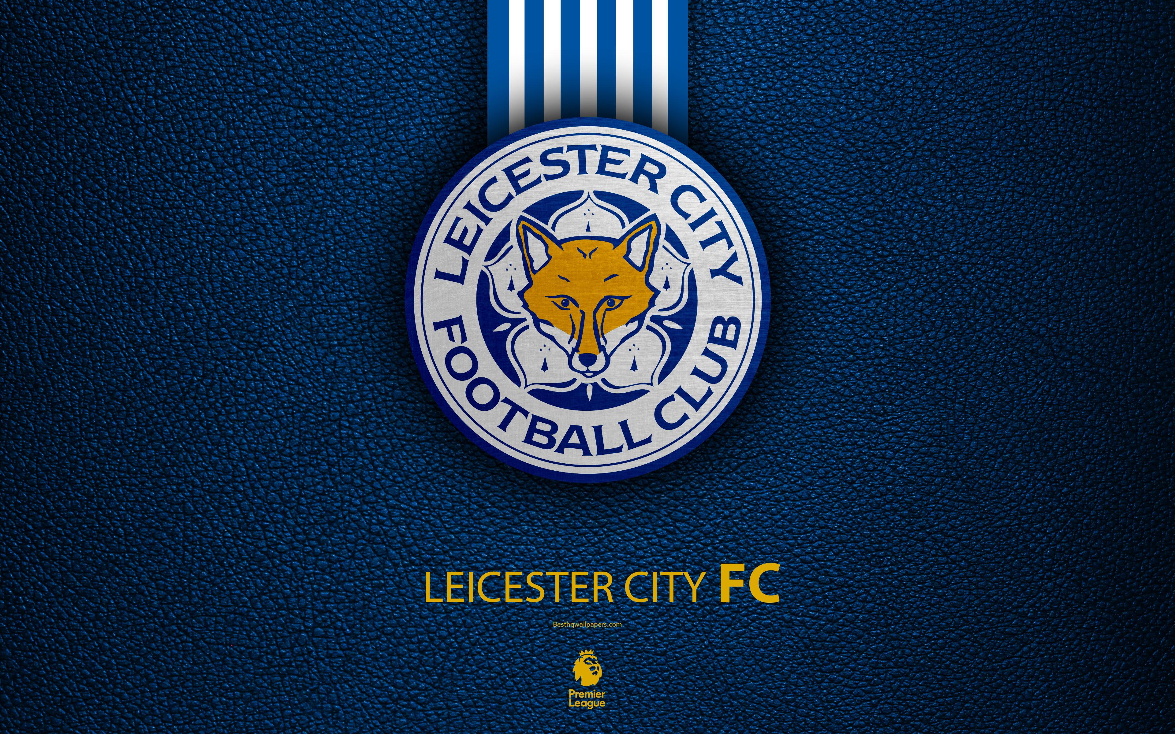 Download wallpapers Leicester City FC 4k English football club 3840x2400