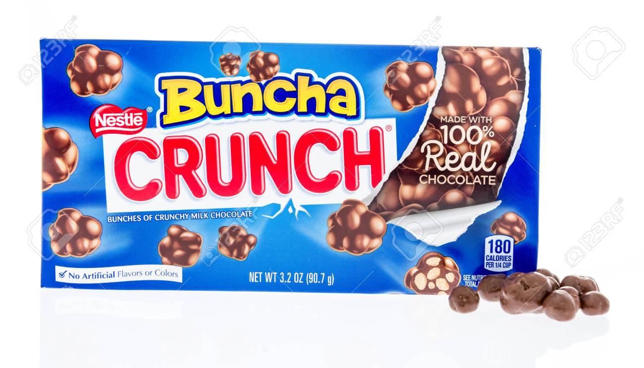 Winneconne WI   17 March 2018 A Box Of Nestle Bunch Crunch 1300x743