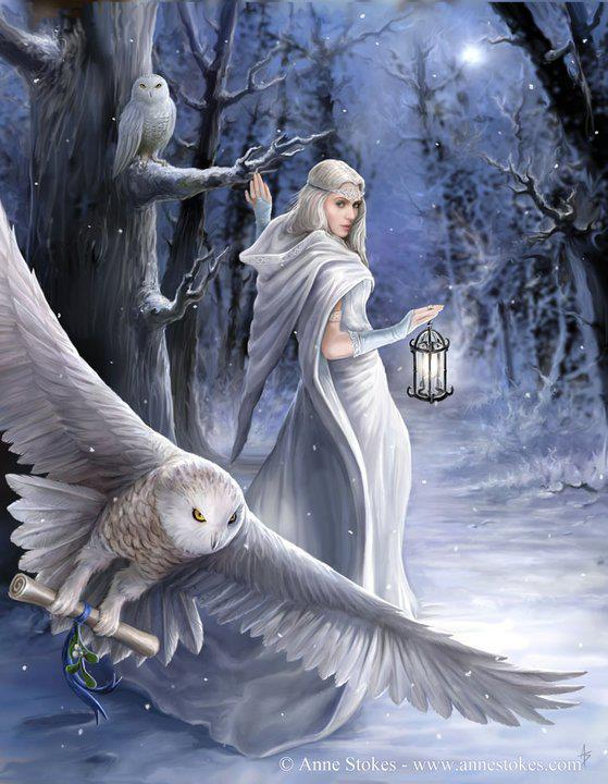 The Witch of Stitches Winter Solstice Blessings 559x720