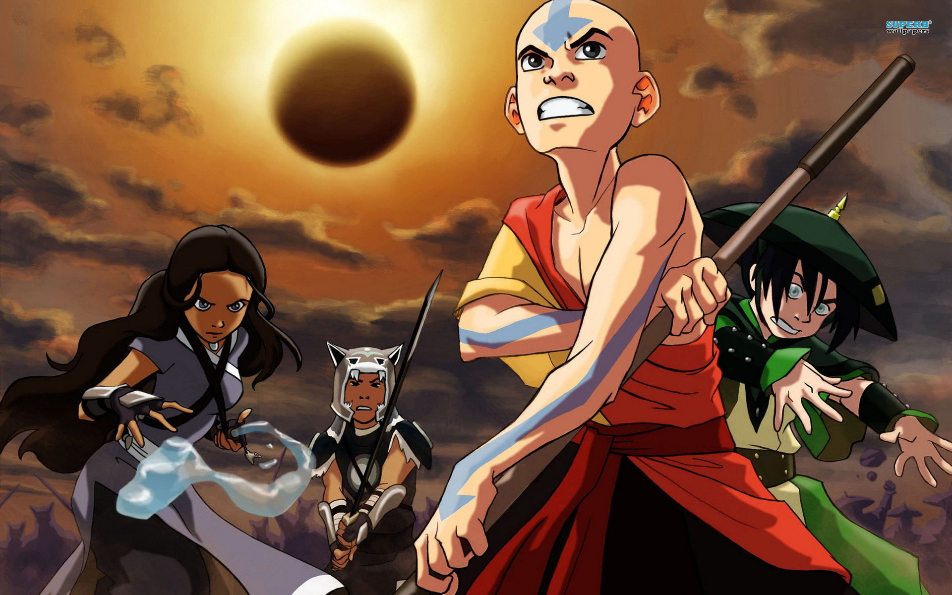 Avatar The Last Airbender Wallpaper Anime 3236 Anime   bwallescom 1920x1200