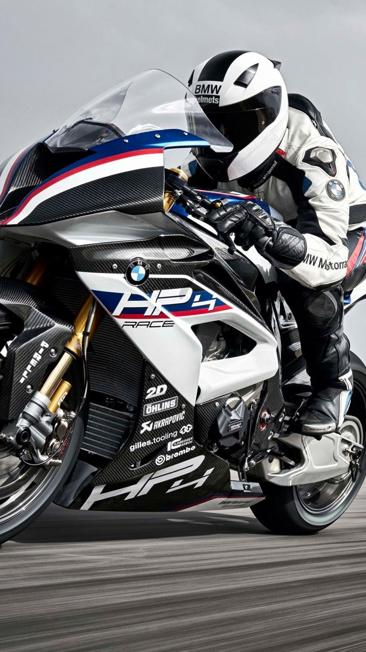 BMW HP4 Race bike track 720x1280 wallpaper Bike Motorcycle 720x1280