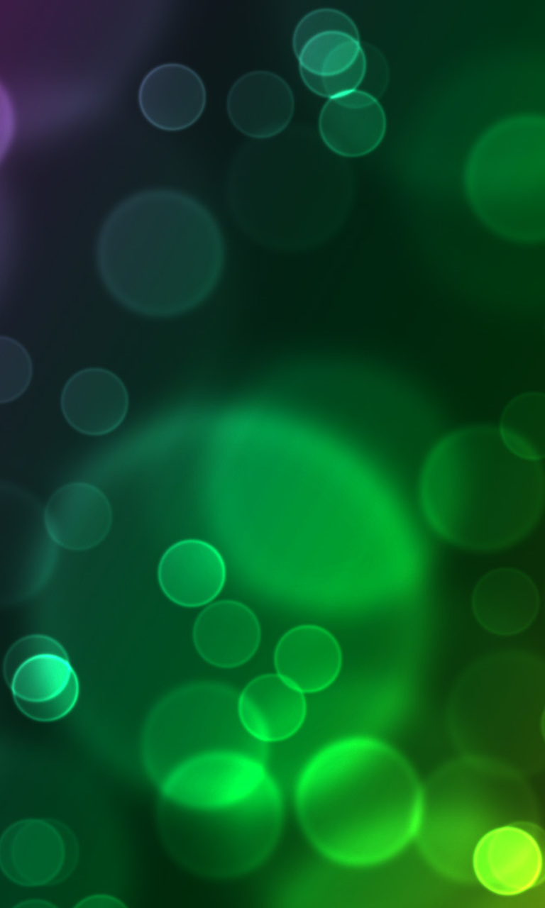 Clean colorful abstract bubbles Wallpaper for Nokia Lumia 920 768x1280