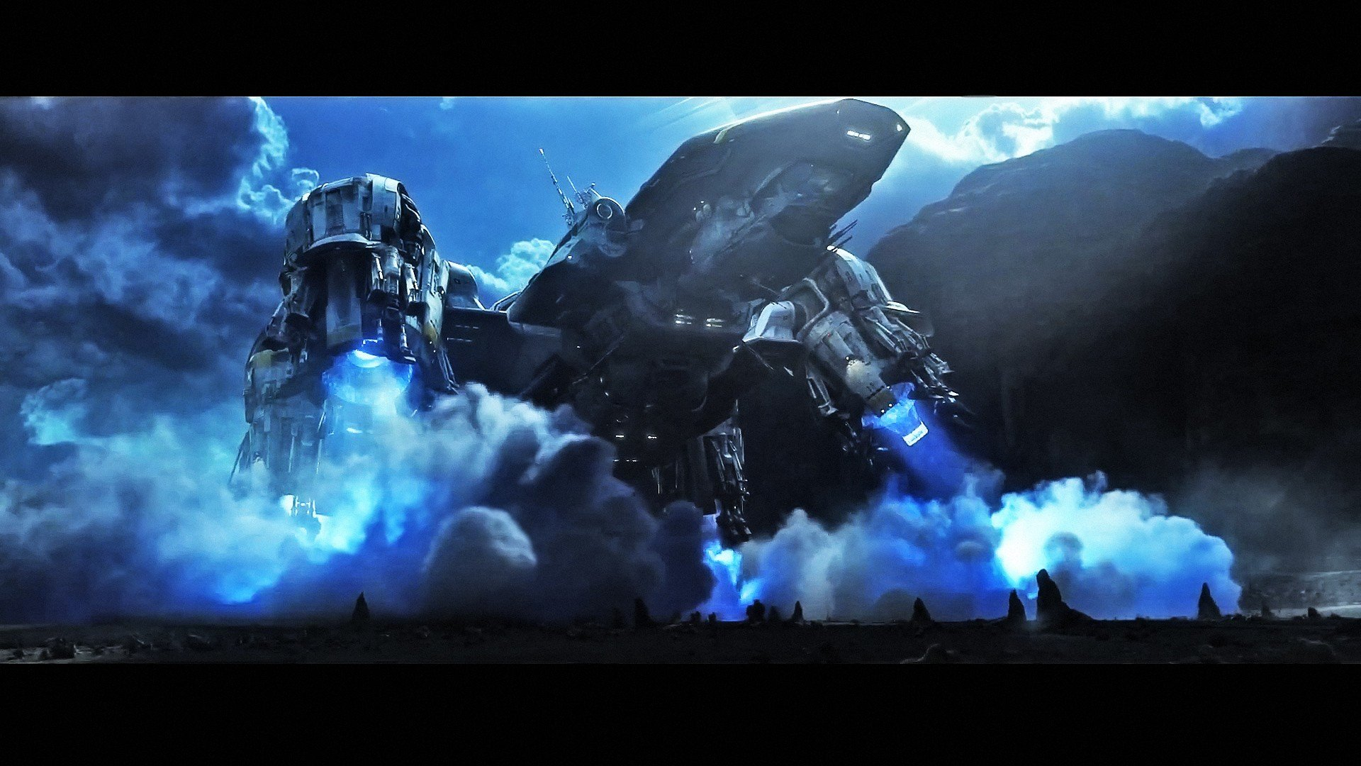 Space Shuttle Prometheus Alien wallpaper 1920x1080 280440 1920x1080