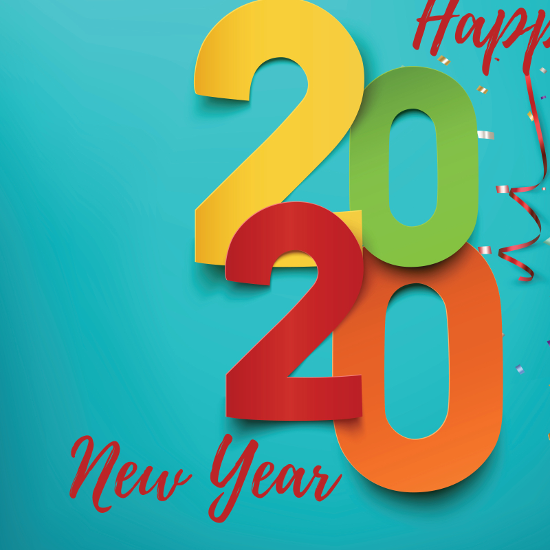 Happy New Years 2020 HD Wallpaper   Home Facebook 800x800