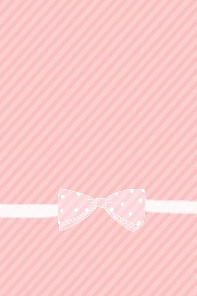 Cute pink wallpaper Girly wallpapers Pinterest Pink Wallpaper 640x960