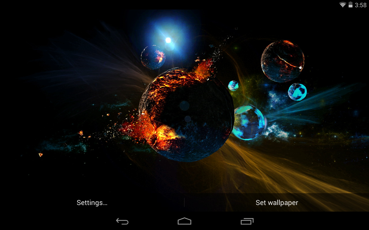 Best Space Live Wallpapers - Android Live Wallpaper Download ...