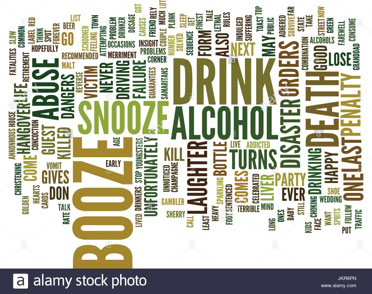 THE BOOZE SNOOZE ALCOHOL ABUSE Text Background Word Cloud Concept 1300x1028