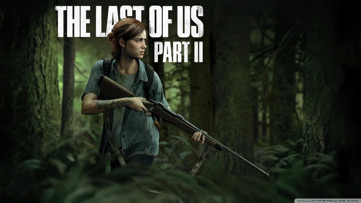 download The Last Of Us Part 2 4K HD Desktop Wallpaper for 4K 1536x864