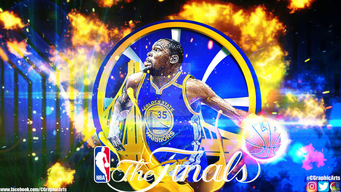 Kevin Durant NBA FInals Wallpaper by CGraphicArts on 1191x670