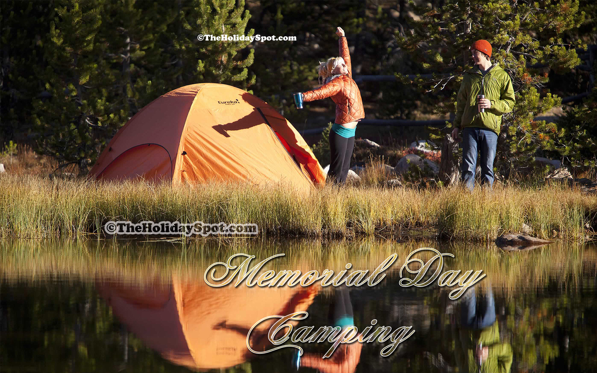 Funny Camping Wallpaper Wallpapersafari