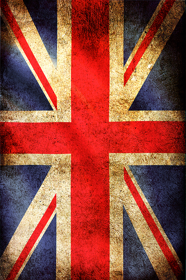 Uk Flag creative designs wallpaper for iPhone download 640x960