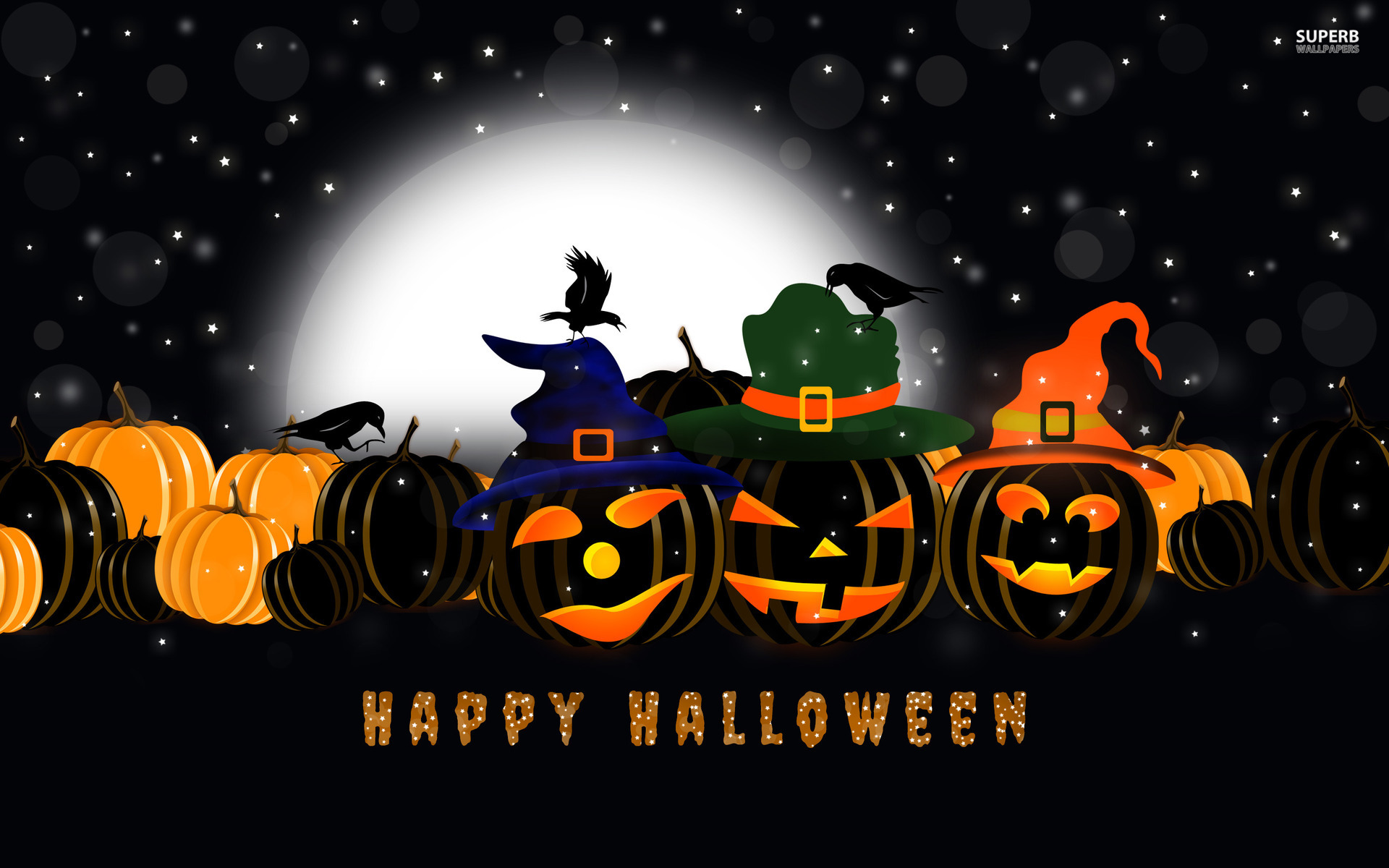 happy halloween wallpaper HD 1920x1200