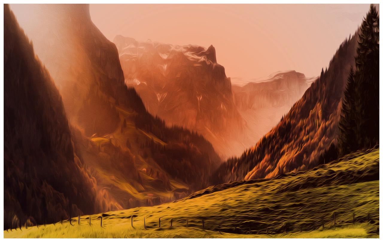 Swiss Alps HD Wallpaper