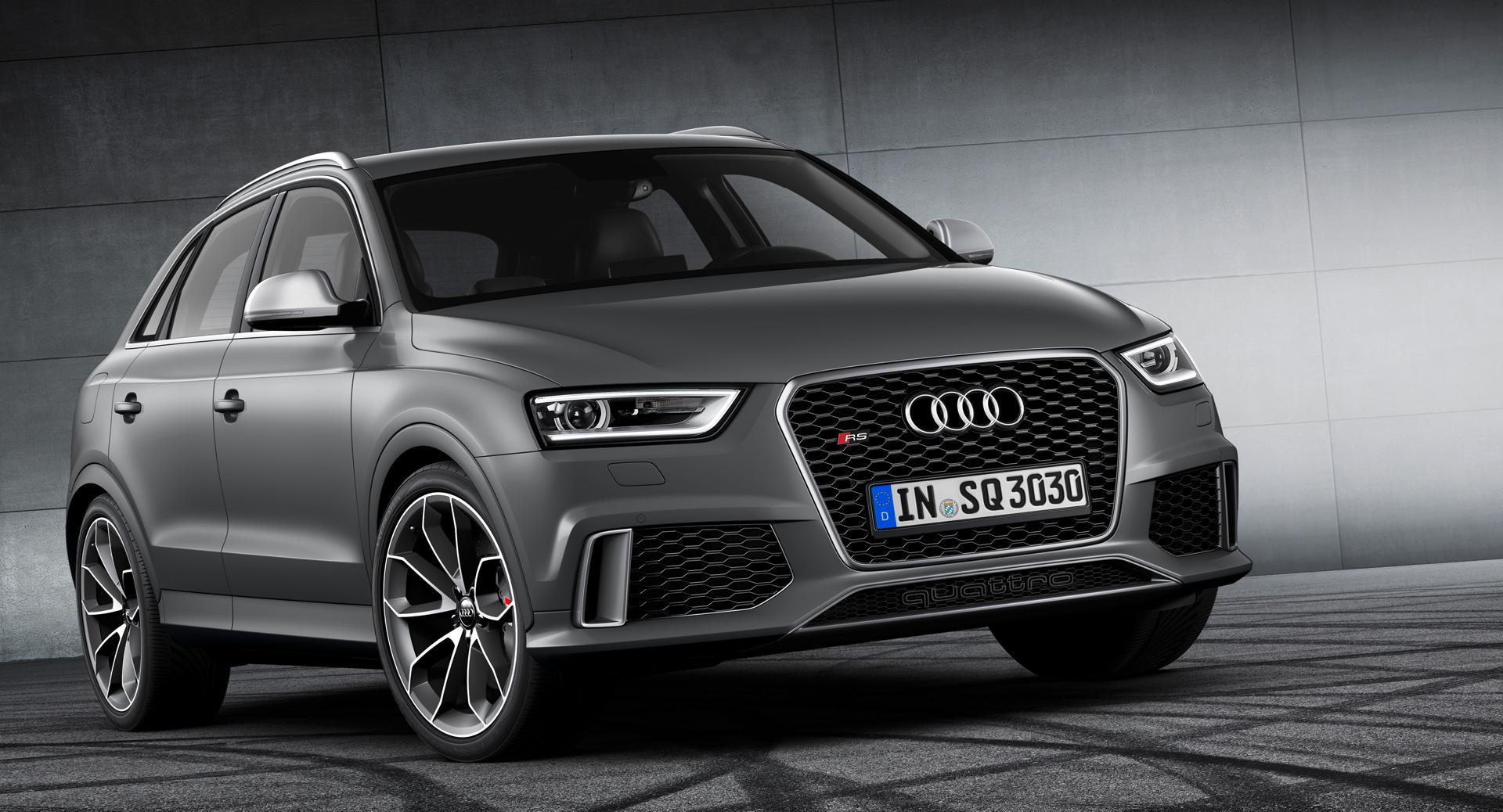 Audi Q3 HD Smoke Grey wallpaper 1920x1038