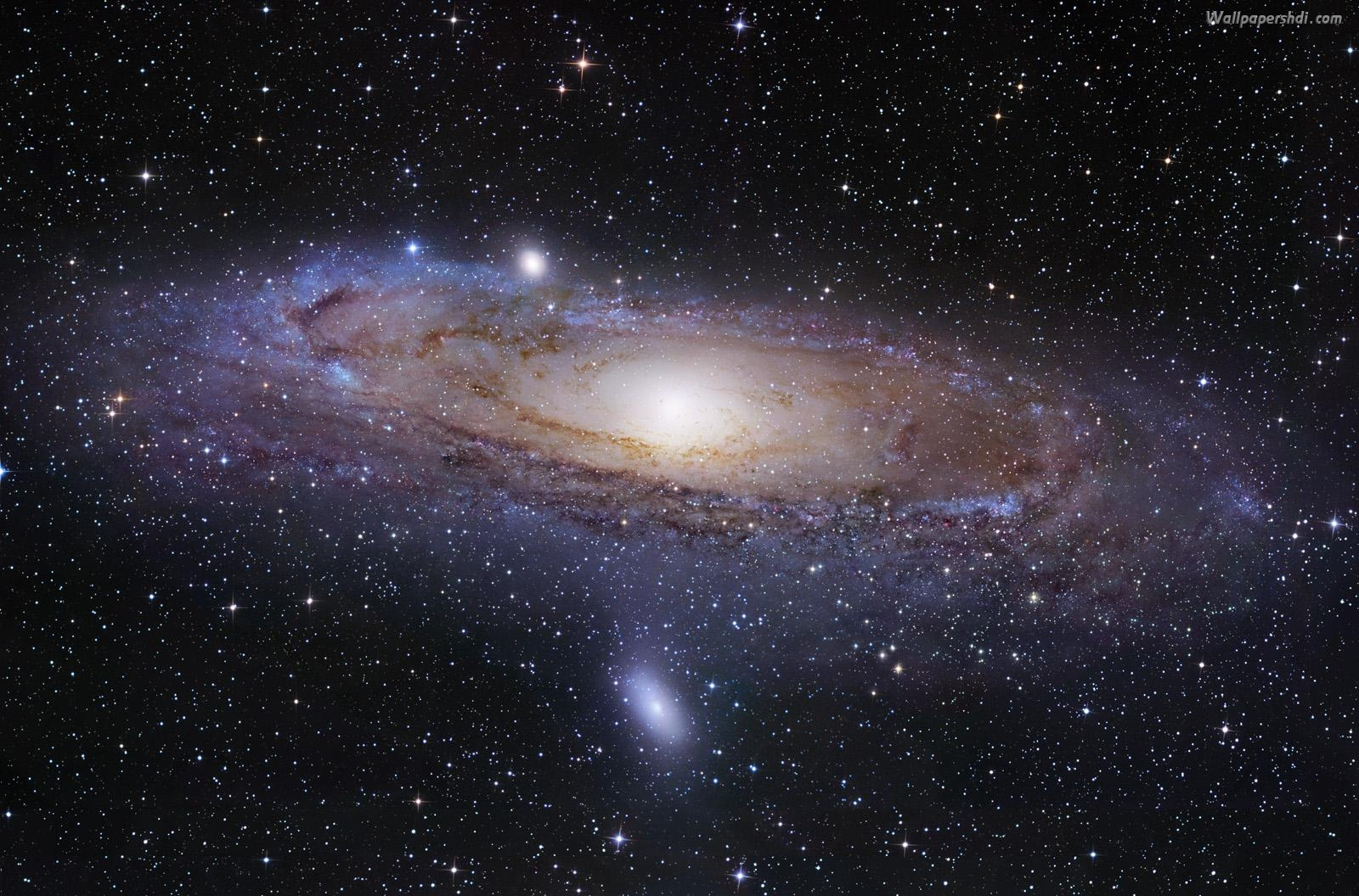 Andromeda Galaxy HD wallpaper wallpapers55com   Best Wallpapers for 1600x1056