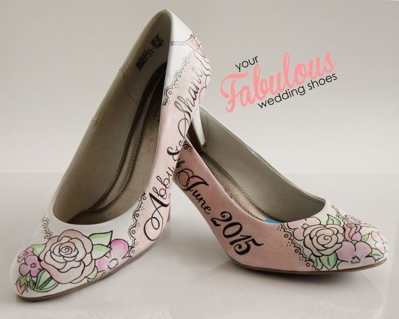 Tips On Choosing Wedding Shoes For Outdoor Wedding Wallpaper 570x456