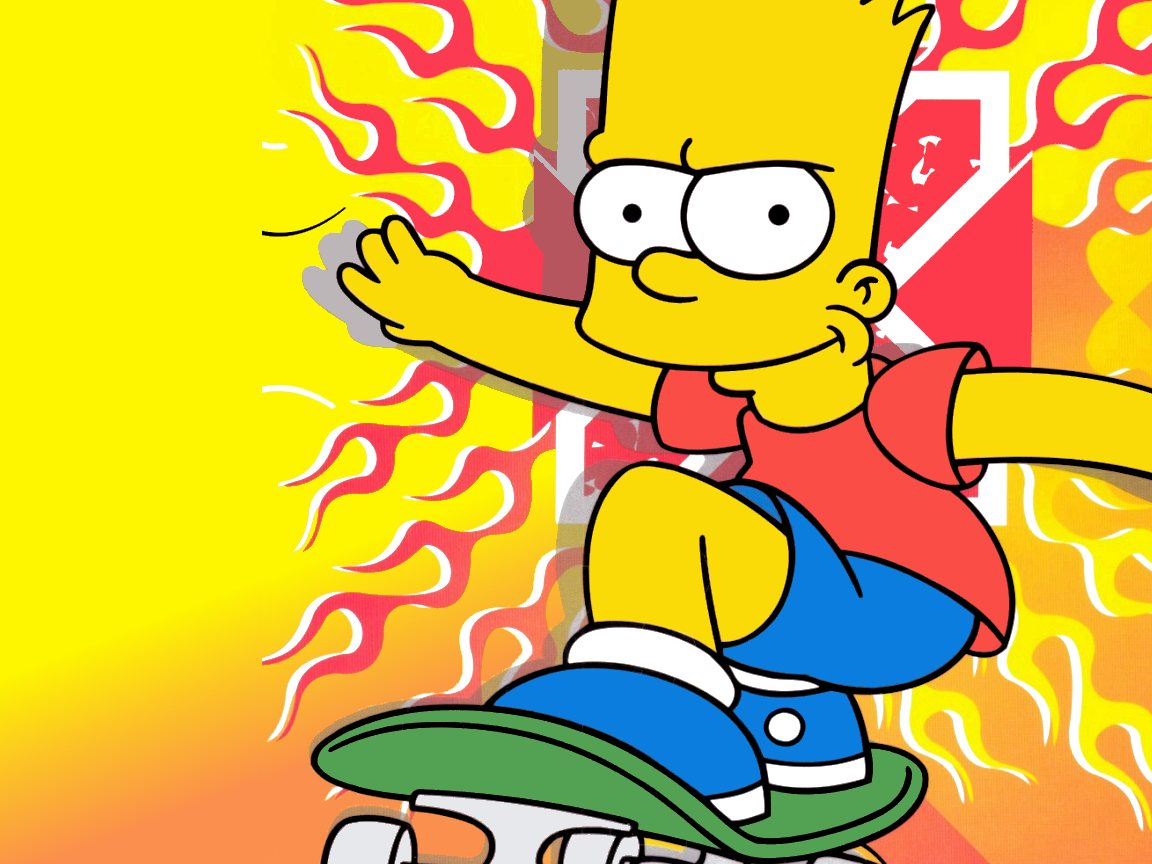 Bart Simpson Wallpaper 1152x864
