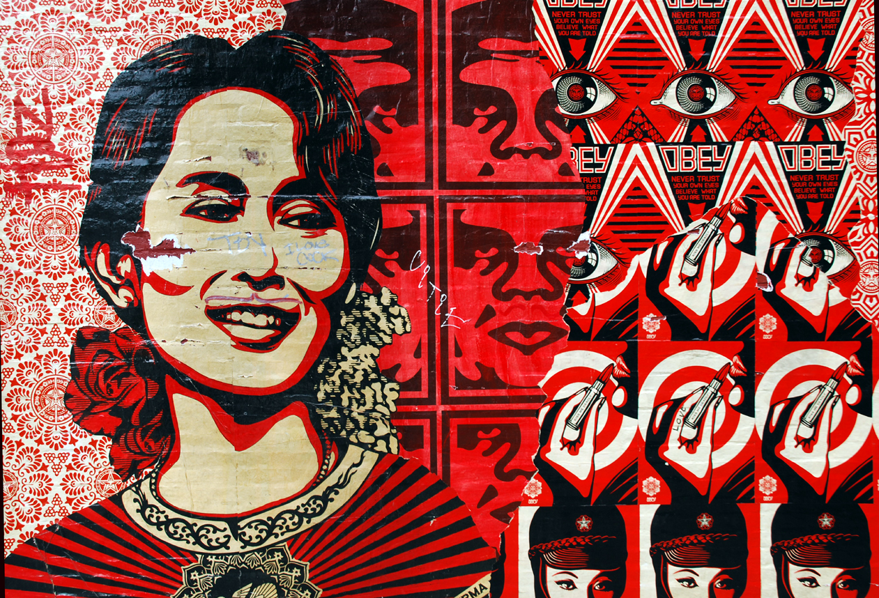 obey tear by greylulzlulz nmeqv original source of image obey 1261x858