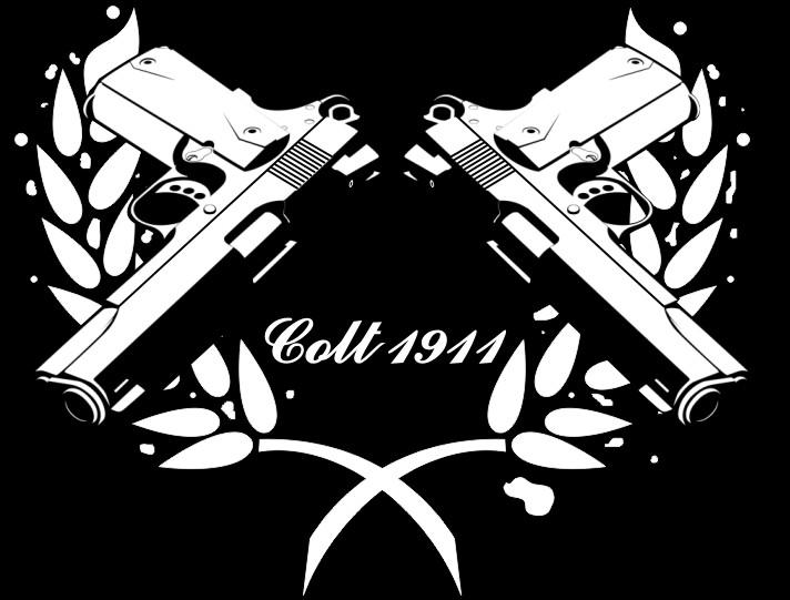 Colt Firearms Logo Wallpaper Colt 1911 by neko hana 712x541
