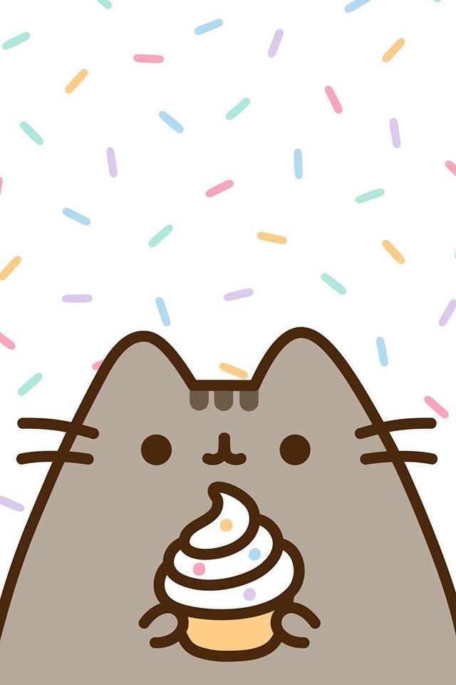 Pusheen wallpaper With images Pusheen cute Pusheen cat Cat 640x960