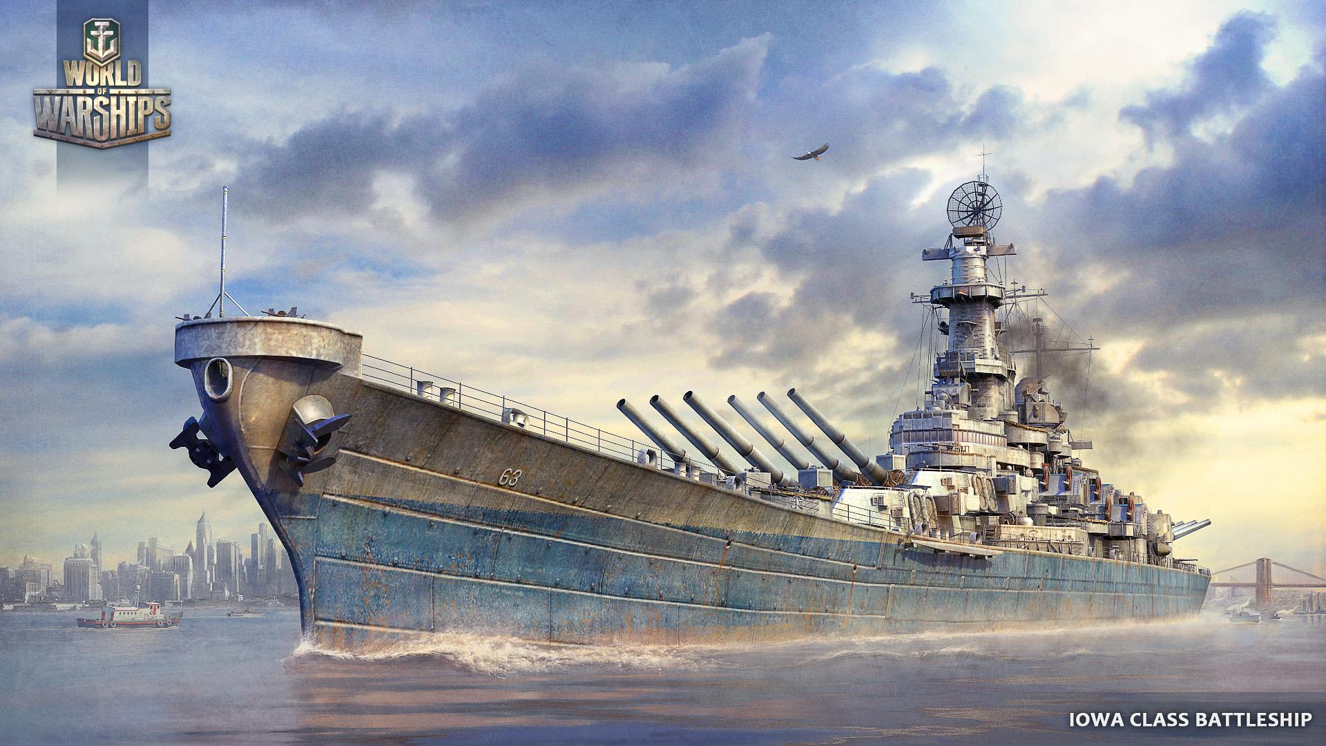 Fond ecran wallpaper World Of Warships   JeuxVideofr 1920x1080