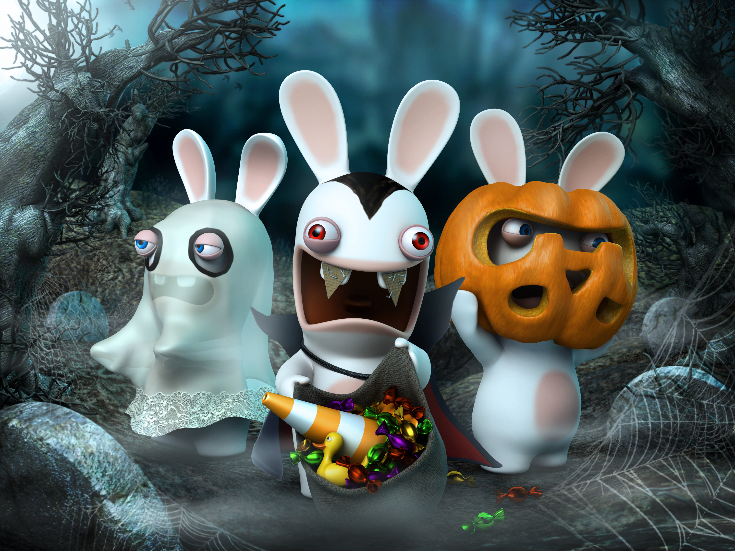 rabbids portal media official website ubisoft - Raving Rabbids Halloween Costume