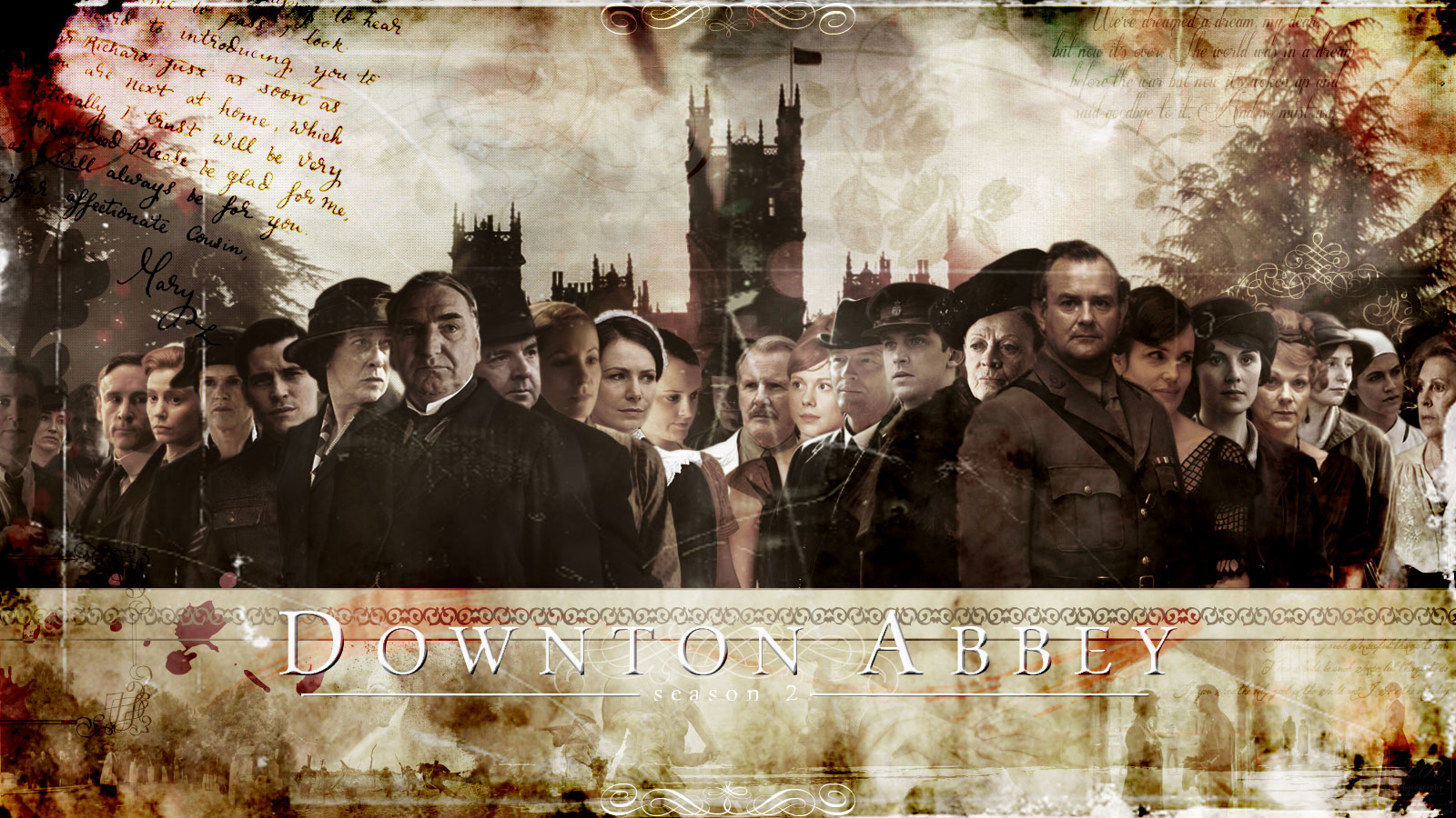 Downton Abbey Wallpaper and Background Image 1600x900 ID 1600x900