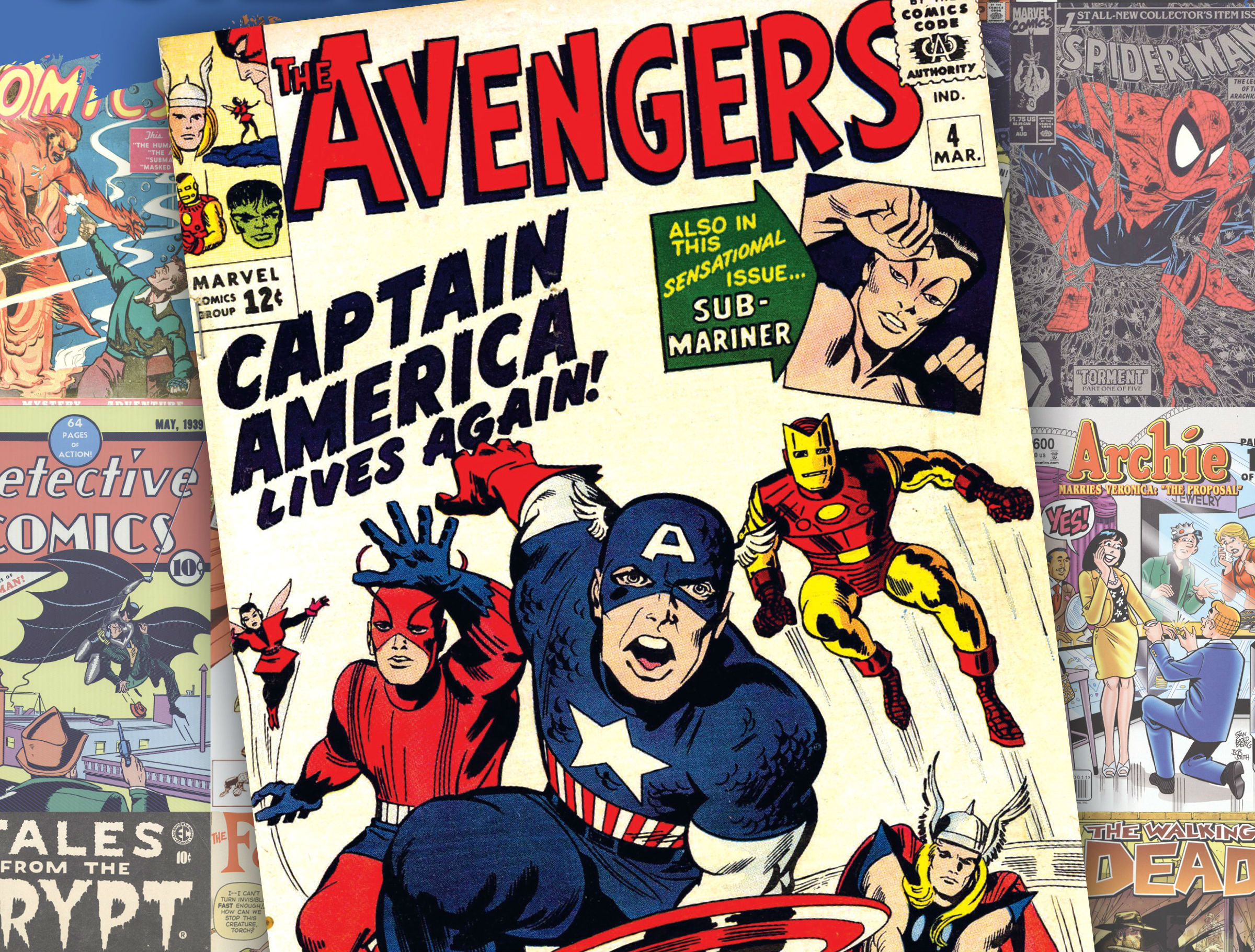 Vintage superhero wallpaper wallpapersafari - Marvel retro wallpaper ...