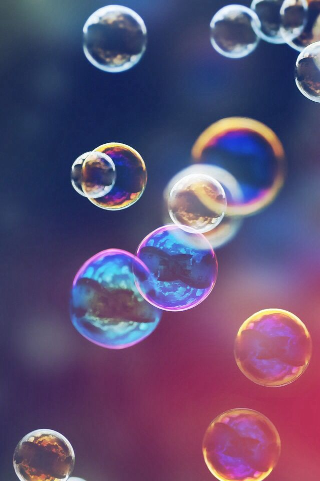 Bubbles Cool backgrounds Pinterest 640x960