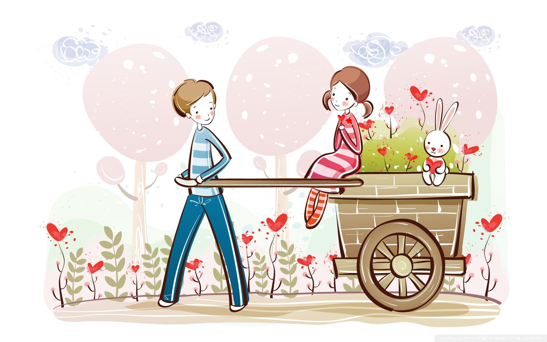 Cute Valentine wallpaper 1920x1200 26367 1920x1200