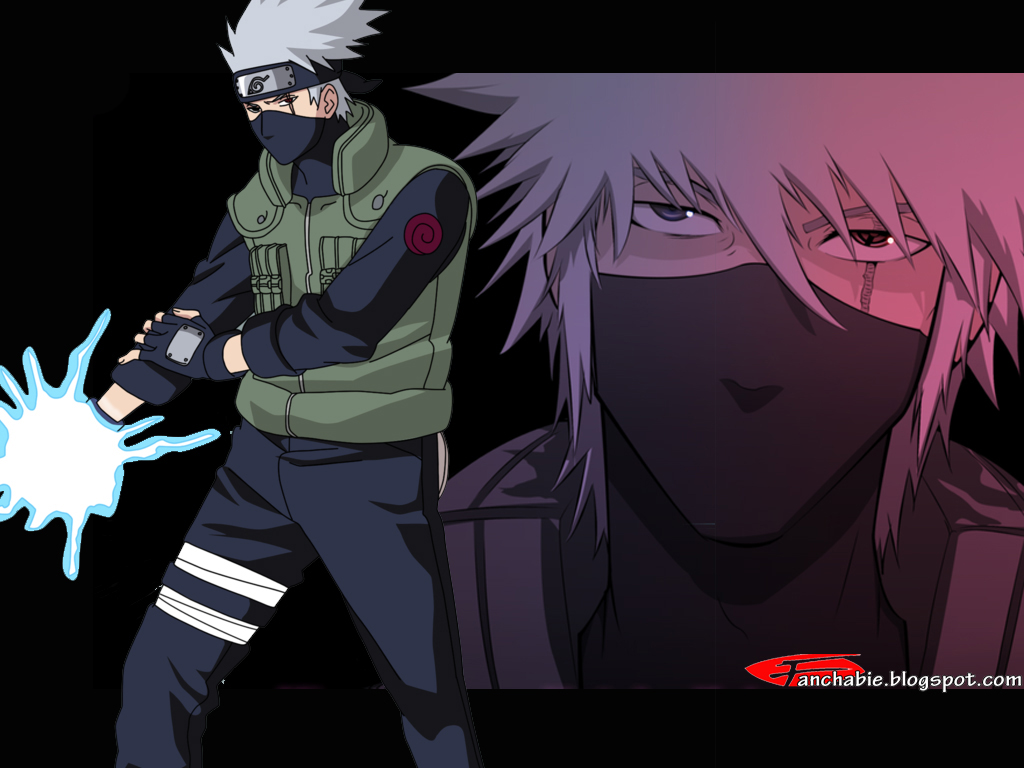 hatake kakashi with sharingan hatake kakashi cool hatake kakashi ninja 1024x768