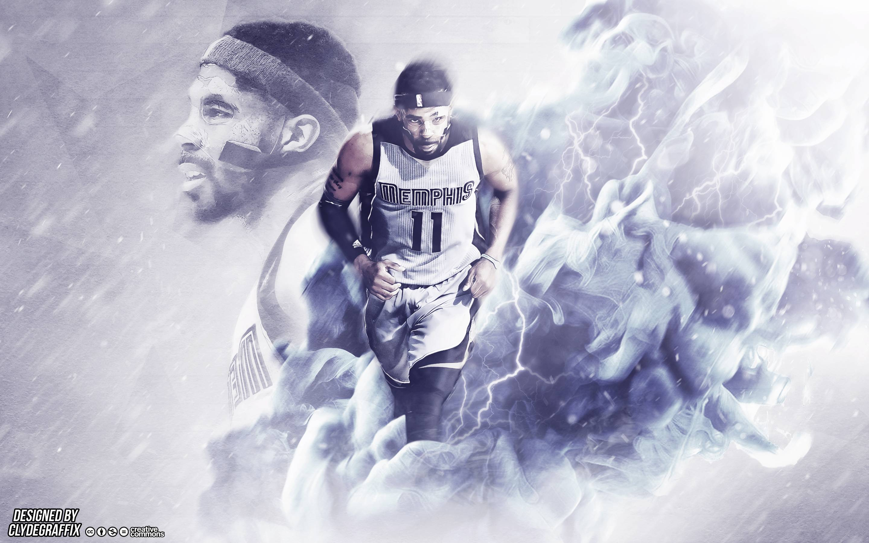 Check out my Mike Conley wallpaper that I made and let me know 2880x1800