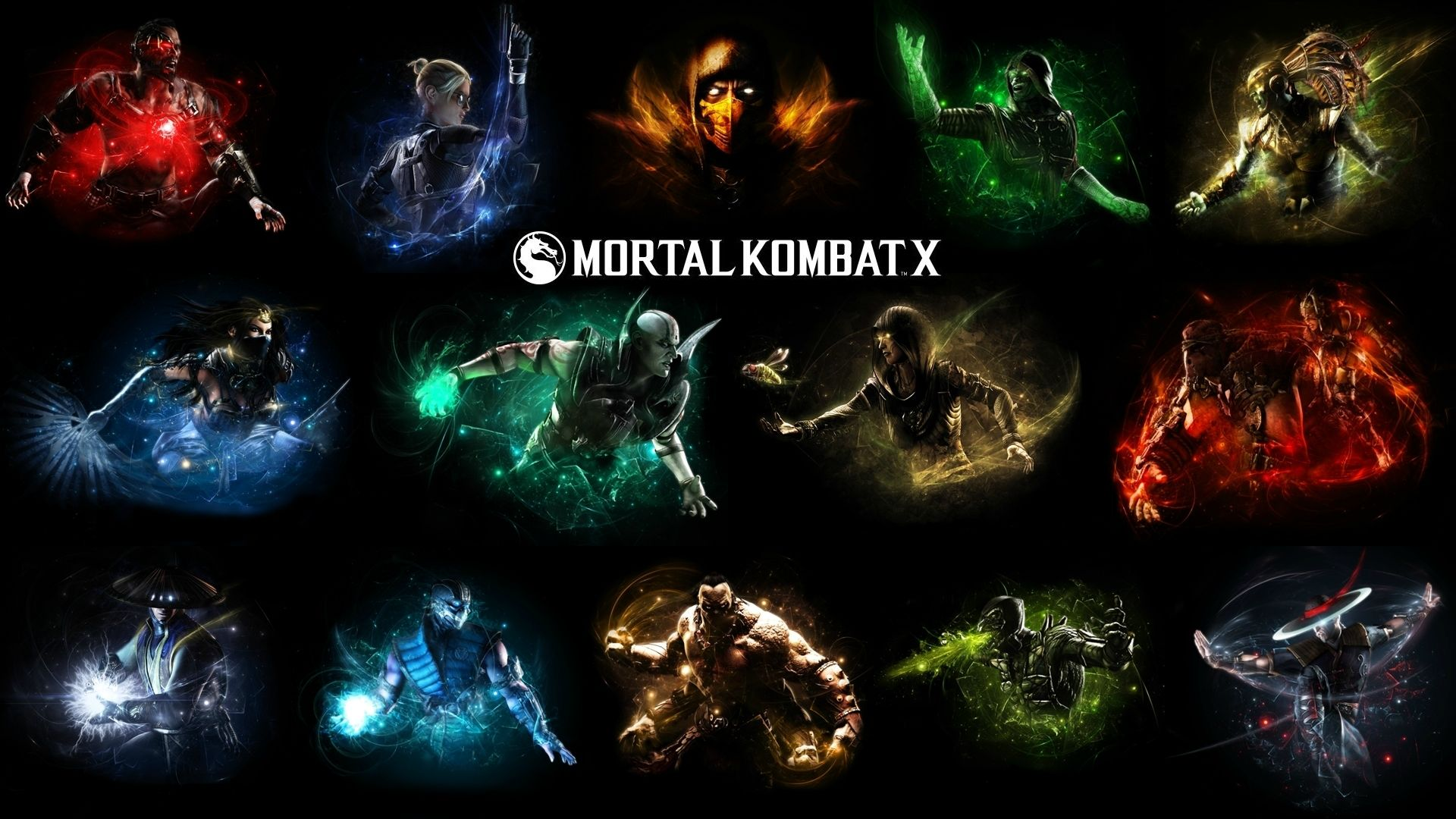 Mortal Kombat X Background: Mortal Kombat X Wallpaper HD