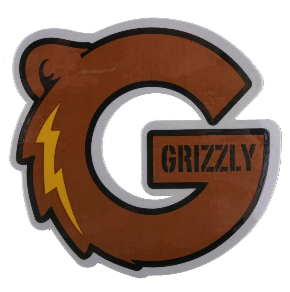 Tie Die Grizzly Logo Skateboard for Pinterest 995x1001