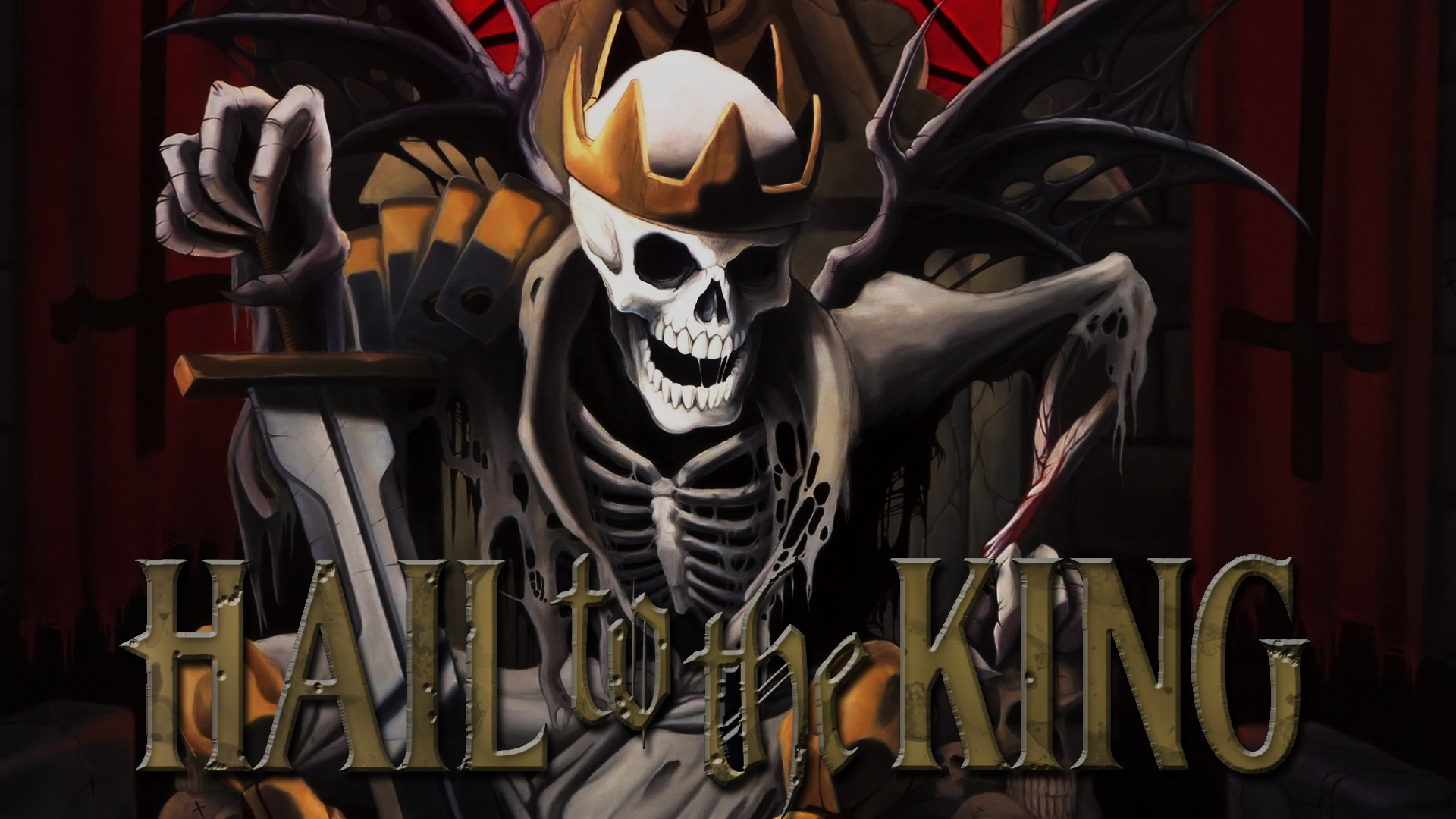 Hail to the King Avenged Sevenfold wallpaper by ChaoticHazard on 1920x1080