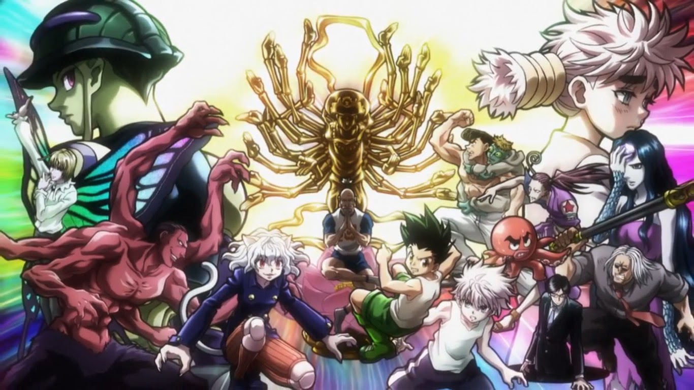 Free Download Hunter X Hunter 2011 Gon Killua Meruem Chimera Ant