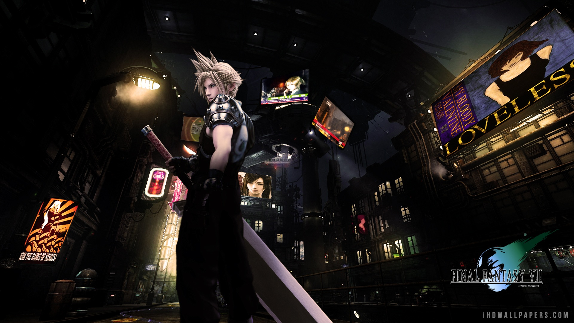 Free Download Final Fantasy Vii Hd Wallpaper Ihd Wallpapers