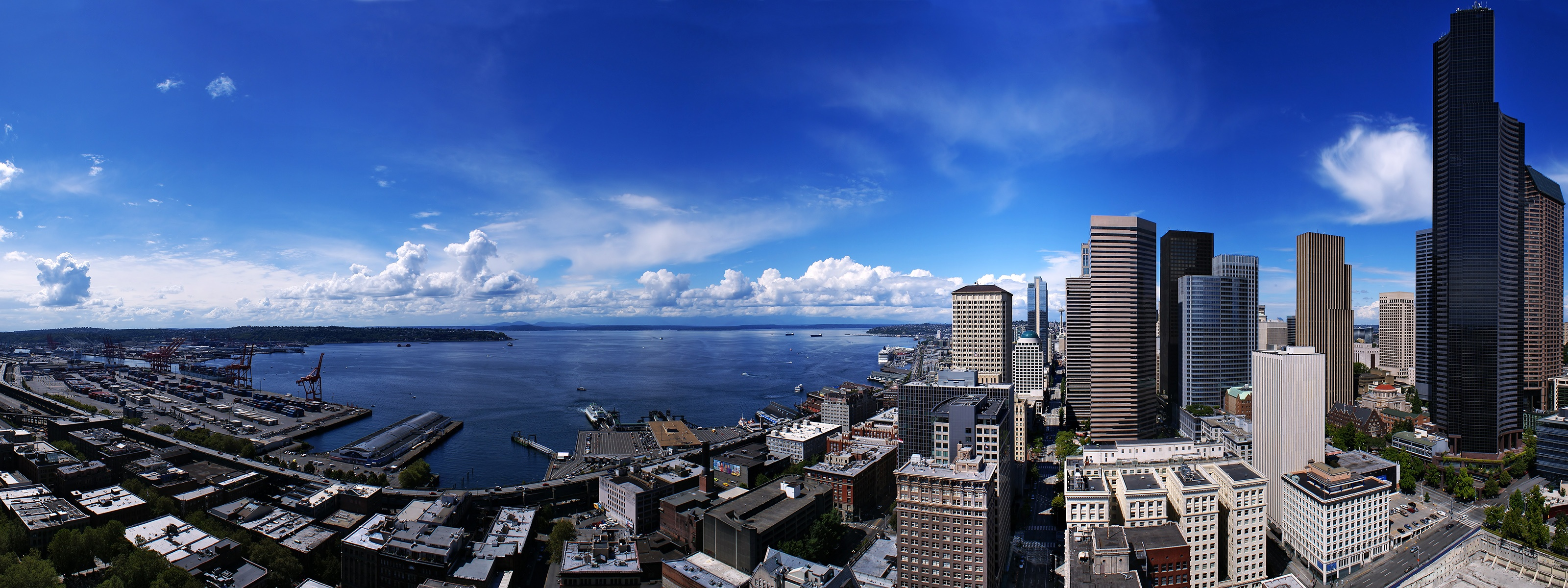 Seattle City United States Wallpapers HD Wallpapers 3200x1200