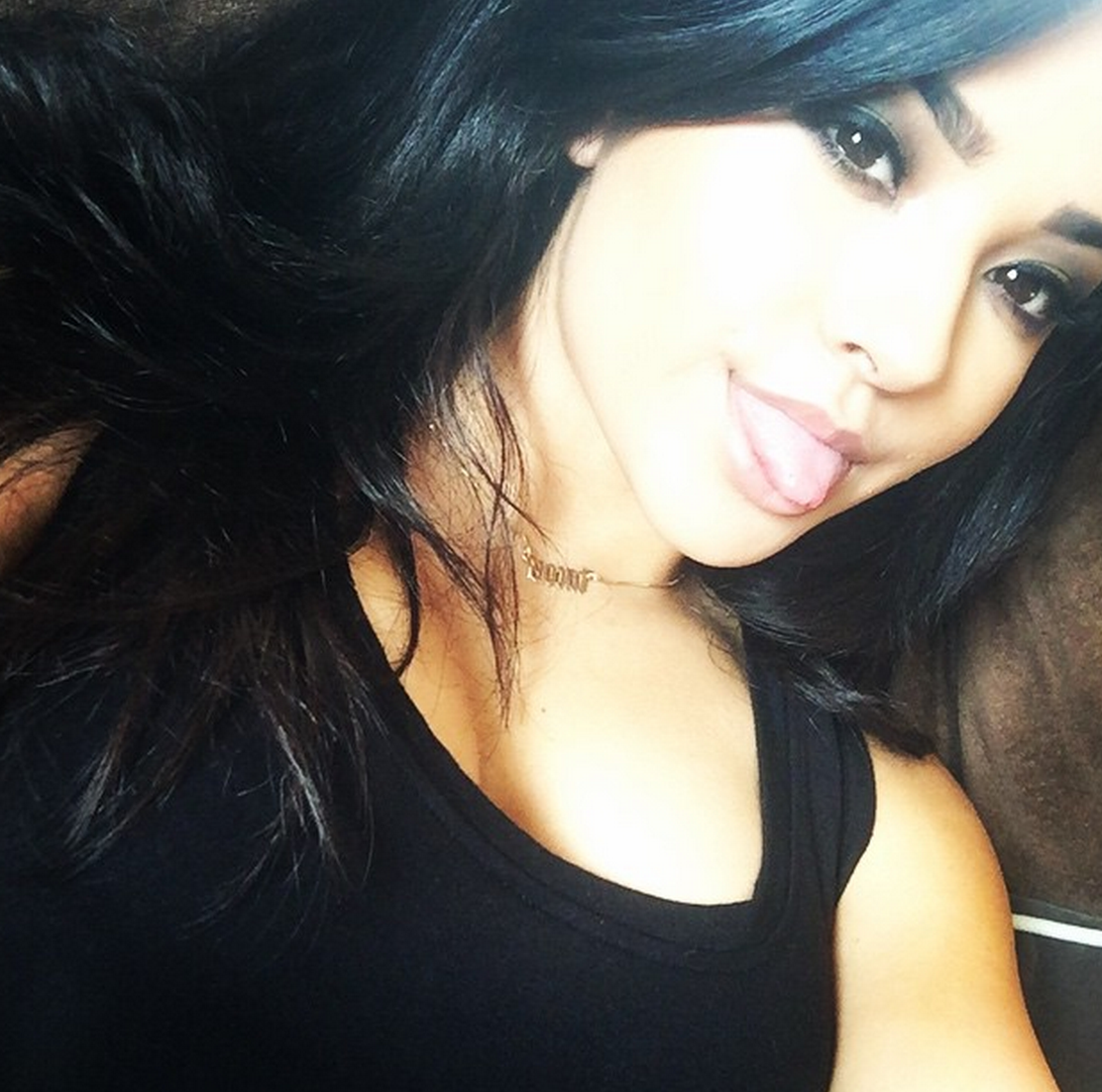 Becky g driving test Instagram by m magazinecom 1112x1102